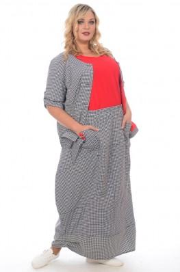 Длинные юбки больших размеров купить в москве